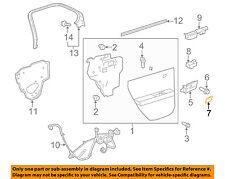 GM OEM Front Door-Handle, Inside Cap Right 22886692