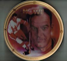 1994 Bradford Exchange  Collectors Plate Gordie Howe