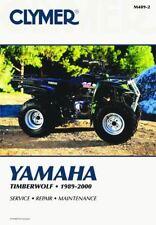 Yamaha Timberwolf 1989-2000 Workshop Manual