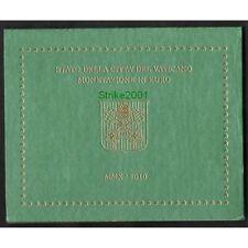 Euro VATICANO 2010 in Folder Ufficiale