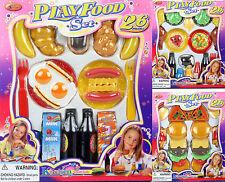 78 tlg Lebensmittel Set für Spielküche Zubehör Kinderküche 261336 NEU ovp