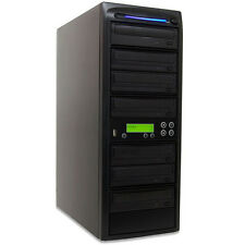 SySTOR 1-6 Standalone USB Memory Flash Drive to Disc (CD DVD) Duplicator Tower