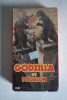 GODZILLA VS MEGALON VHS Tape Rare Cult Horror Exploitation