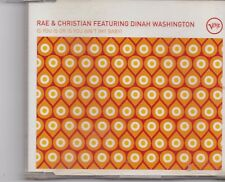 Rae&Christian-Is You Is Or You Aint cd maxi single