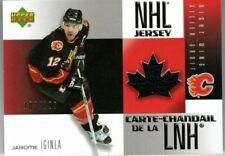 JAROME IGINLA 2005-06 McDonald's Upper Deck JERSEY #/120 Calgary Flames McDo
