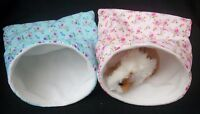 GUINEA PIG BED RAT DEGU FLEECE SNUGGLE POUCH,CUDDLE CUP SACK SLEEPING BAG XL