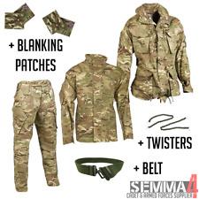 More details for military raf cadet atc mtp uniform smock, shirt & trousers set genuine + extras