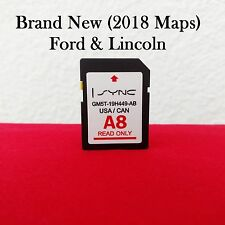 2018 / 2017 A8 MAP UPDATE GPS Navigation SD CARD Sync FORD, LINCOLN UPDATES A7
