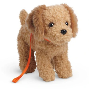 American Girl Doll MCKENNA DOG Cooper Goldendoodle Plush Puppy Collar Leash BAG