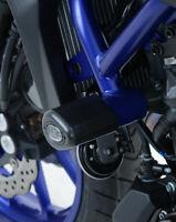 Yamaha MT-07 MT07 2014-2019 R&G Racing black aero crash protectors bungs bobbins