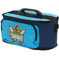 NRL Drink Cooler Bag With Tray - Gold Coast Titans - Team Logo - Lunch - Drinks
