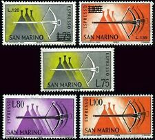 San Marino 1965/66 Espressi Balestra cmpl 5 v. **