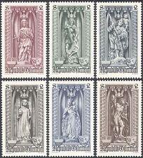Austria 1969 Vienna Diocese 500th Anniv/Statues/Saints/Dragon 6v set (n42835)