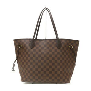 Louis Vuitton LV Tote Bag Neverfull MM Damier N51105 Good Condition 1718809