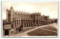Picture Postcard Windsor Castle St George's Chapel Berkshire