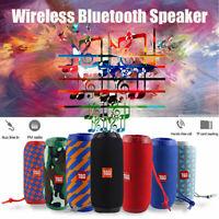 Portable Wireless Bluetooth Speaker Outdoor Stereo Bass USB/TF/FM Radio Audio Wi