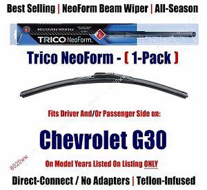 Super Premium NeoForm Wiper Blade (Qty 1) fits 1996 Chevrolet G30 16220