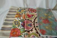 "Pottery Barn 24"" Pillow Cover Shams Foral Striped Addision Demetria Kash Pauline"