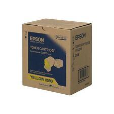 original Epson tóner amarillo S050590 C13S050590 C3900 NUEVO B