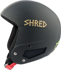 Shred Ski Helmet Snowboard Helmet Black x-Static Slytech Fitting Kit