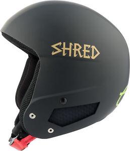 Shred Ski Helmet Snowboard Helmet Black x-Static Slytech Fitting Kit