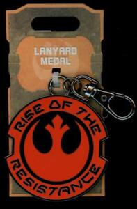 Disney Parks Star Wars Galaxy's Edge Lanyard Medal Rise of the Resistance