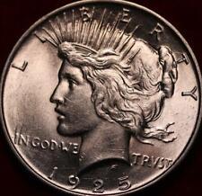 Uncirculated 1925 Philadelphia Mint Silver Peace Dollar