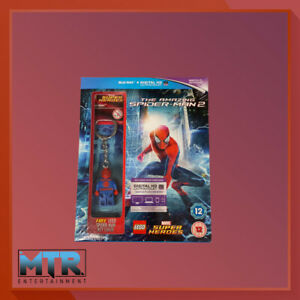 The Amazing Spider-Man 2 + Lego Spider-Man Key Chain (Blu-Ray)