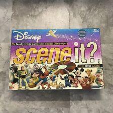 Disney Pixar Scene It? 1st Edition DVD Trivia Family Board Game