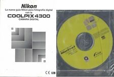 Nikon Coolpix Digital Camera 4300 Manual with NikonView5 Software OEM Sealed