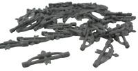 Lego 50 Pfeil und Bogen (dunkelgrau dark bluish gray) Neu Pfeile Bögen