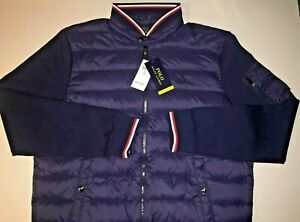 Polo Ralph Lauren Puffer Quilted Down Jacket French Navy Men's Large