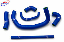 KAWASAKI ZX9R 1994 1995 1996 1997 HIGH PERFORMANCE SILICONE RADIATOR HOSES BLUE