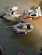 Three Power Rangers Vehicles