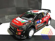 Citroen C3 WRC - 2017 - K. Meeke - Ganador Rally Mexico (1/18) - IXO (Altaya)