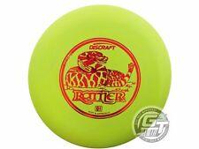 New Discraft Pro D Rattler 151-154g Lime Red Foil Putter Golf Disc