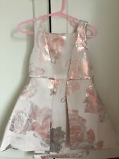 Ted Baker Girls Floral Dress Age 2-3