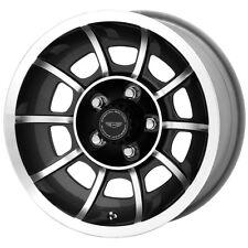 "15"" Inch AR VN47 VECTOR 15x7 5x114.3 (5x4.5"") +0mm Black/Machined Wheel Rim"