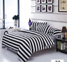 Duvet Cover Pillow Case Quilt Cover Bed Set Queen King All Size Strip FitCA