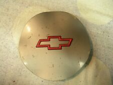 1995 - 1999 Chevy Monte Carlo / Lumina  Wheel Center Caps -Silver -Red  Emblem