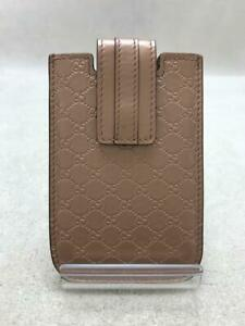 Gucci  Pnk Mobile Case 240188  Pink Fashion Card case 2082 From Japan