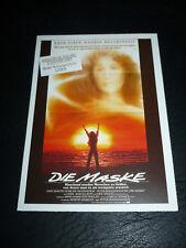 MASK, film card [Cher, Sam Elliott, Eric Stoltz, Laura Dern]