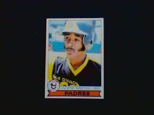 1979 (Topps) Ozzie Smith (Rookie) Baseball Card (EX/Mt++)