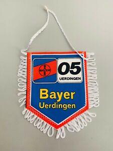 FC Bayer Uerdingen 05 fanion vintage football banderin pennant Germany