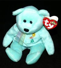 Pediatric AIDS Foundation Ty Ariel 2000 Beanie Baby Teddy Bear Glaser Plush