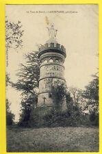 cpa RARE FRANCE 81 - BURLATS (Tarn) La FONTASSE La TOUR de DAVID Marie Immaculée