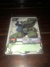 Gundam MS WAR TCG MS-016 Leo 2000 BANDAI TCG Beam Saber