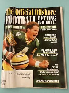 2001 College & Pro The Official Offshore Football Betting Guide Brett Favre