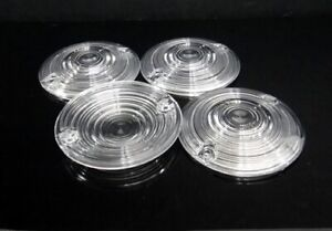"""4x Turn Signal Light 3 1/4"""" Clear Lens Harley Touring Glide Electra Road King FL"""