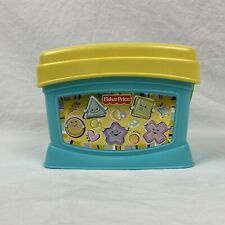 Fisher Price Shape Sorter Blocks Baby Toddler Toy Block Bucket Green